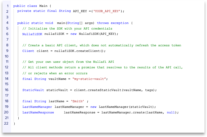 Updated Java Code Window Bar with Text Outline